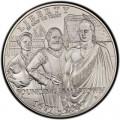 1 доллар 2007 400 лет Джэймстауну, серебро UNC