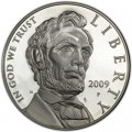 Dollar 2009 Lincoln Silber Proof