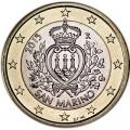 1 евро 2015 Сан-Марино, UNC