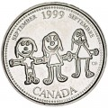 25 Cent 1999 Kanada, September
