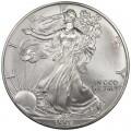 1 доллар 1997 США Шагающая Свобода, серебро UNC