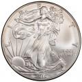 1 доллар 2010 США Шагающая Свобода, серебро UNC