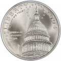 1 доллар 1994 200 лет Капитолию, серебро UNC