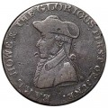 1/2 penny 1794 United Kingdom, token. Earl Howe