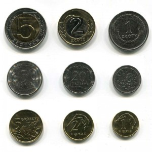 Poland Coin Set of 2020 9 coins, UNC