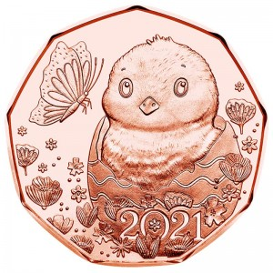 5 euro 2021 Austria, Little Miracle