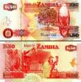 50 kwach 2008 Zambia, banknote, XF