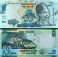 50 kwacha 2016 Malawi, banknote, XF