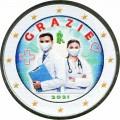 2 евро 2021 Италия, Спасибо, медики (цветная)