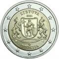 2 евро 2021 Литва, Дзукия