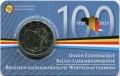 2 евро 2021 Бельгия, Бельгийско-люксембургский экономический союз