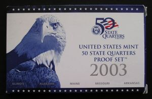 setzen 25 Cent 2003 USA PP Nickel, Minze S