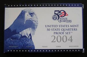 setzen 25 Cent 2004 USA PP Nickel, Minze S