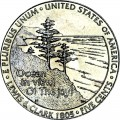 5 cents 2005 USA Ocean in View, Westward Journey Series, mint mark D