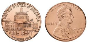 1 cent 2009 USA Presidency of the Lincoln mint mark D