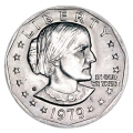 1 dollar 1979 USA Susan B. Anthony mint mark S