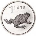 1 лат 2010 Латвия, Жаба