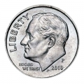 One dime 10 cents 2010 US Roosevelt, mint P