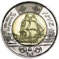 2 доллара 2012 Канада Фрегат Шеннон