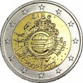 2 euro 2012 10 years of Euro, Ireland