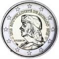 2 евро 2012 Монако 500 лет независимости