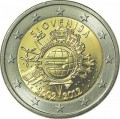 2 euro 2012 10 years of Euro, Slovenia