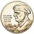 2 злотых 2003 Польша, генерал брони Станислав Мачек