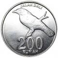 200 рупий 2003 Индонезия, Балийский скворец, из обращения