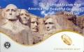Набор 25 центов 2013 США Национальные парки (1 пластина) пруф, двор S, никель