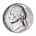Nickel five cents 1989 US, mint P