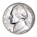 Nickel five cents 1990 US, mint D