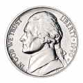 5 cents (Nickel) 1990 USA, mint P
