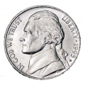Nickel five cents 1995 US, mint D