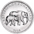 5 шиллингов 2005 Сомалиленд, Слоны