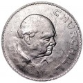 1 crown 1965 Great Britain Churchill, from circulation