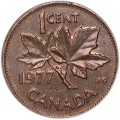 1 cent 1977 Canada, from circulation