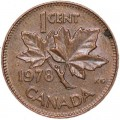 1 cent 1978 Canada, from circulation