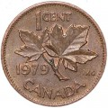 1 cent 1979 Canada, from circulation