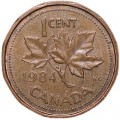 1 cent 1984 Canada, from circulation
