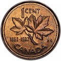 1 cent 1992 Canada, from circulation