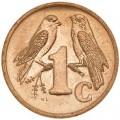 1 цент 2001 ЮАР Птицы