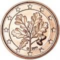 1 цент 2011 Германия G, UNC