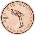1 цент 2015 Словения, UNC