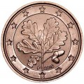 1 цент 2016 Германия F, UNC