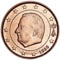 1 цент 1999 Бельгия, UNC