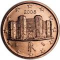 1 Cent 2008 Italien UNC