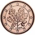 1 Cent 2014 Deutschland A UNC