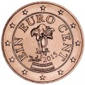 1 цент 2015 Австрия, UNC