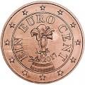 1 Cent 2017 Österreich UNC
