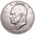 1 dollar 1971 USA Eisenhower, mint mark D